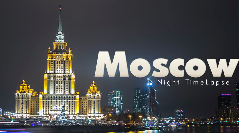 Moscow Russia timelapse