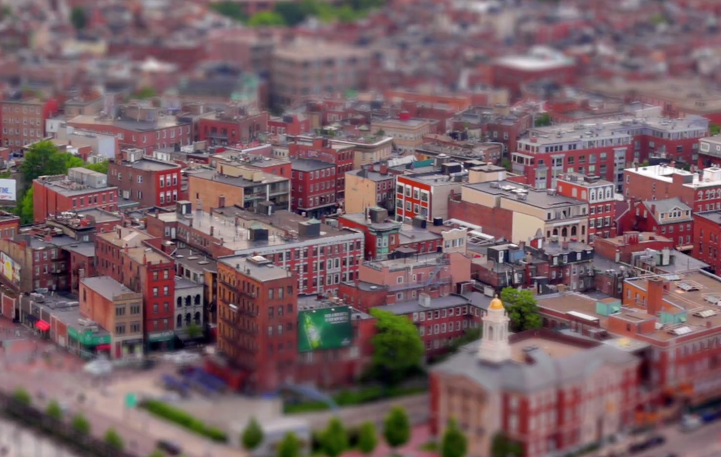 Boston like you have never seen it before