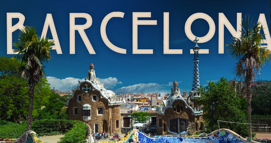 Barcelona Go Hyperlapse a fast moving short film….