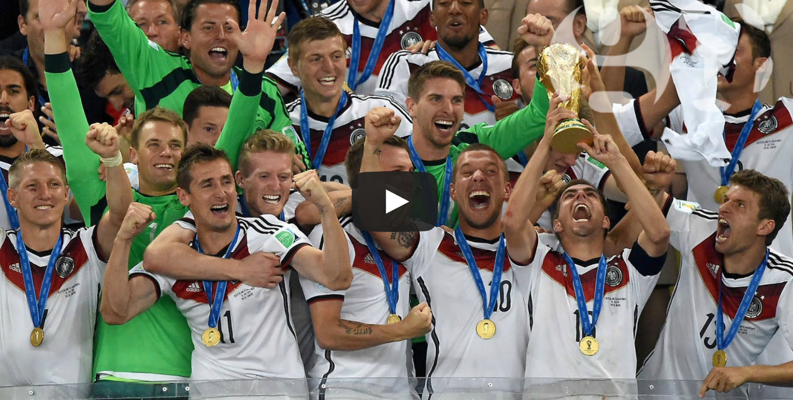 The highlights of the 2014 World Cup in 90 seconds (video) Stop Motion Animation