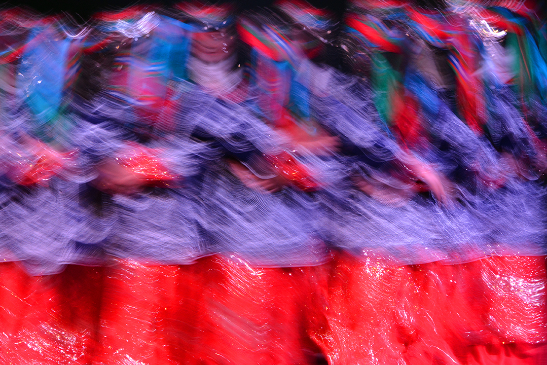 Long Exposure Folk Dance by Sezi Yelken