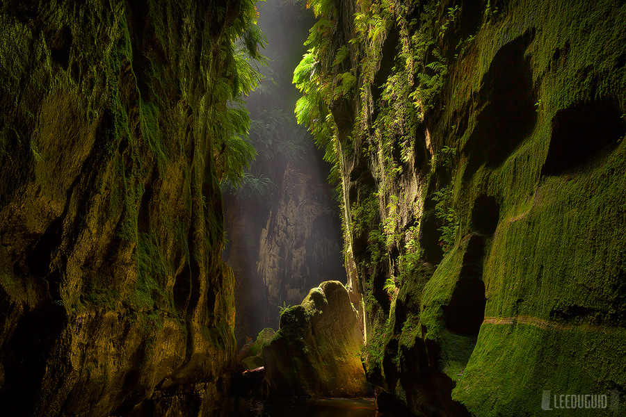 Claustral Canyon by Lee Duguid
