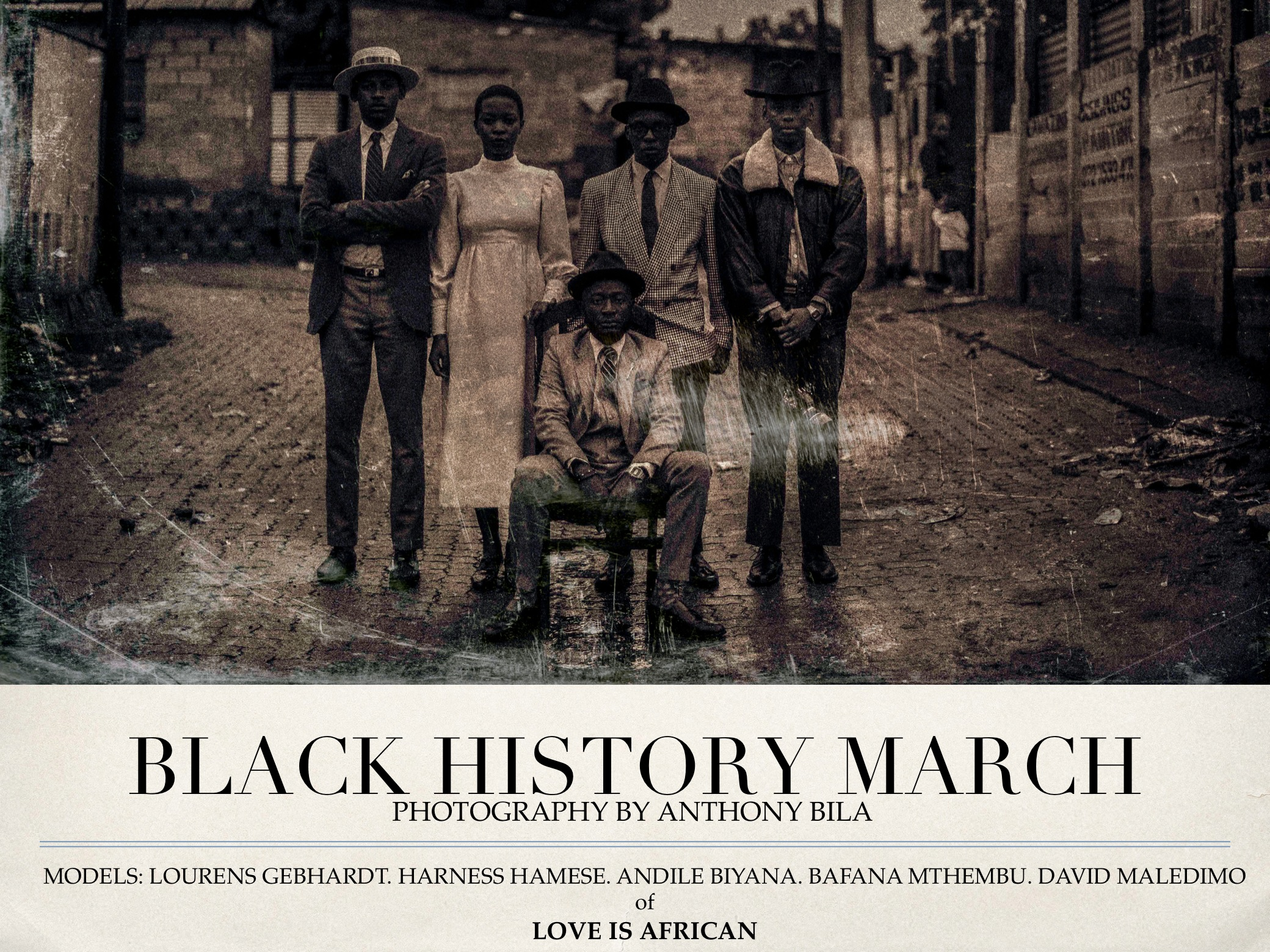Black History March by Anthony Bila