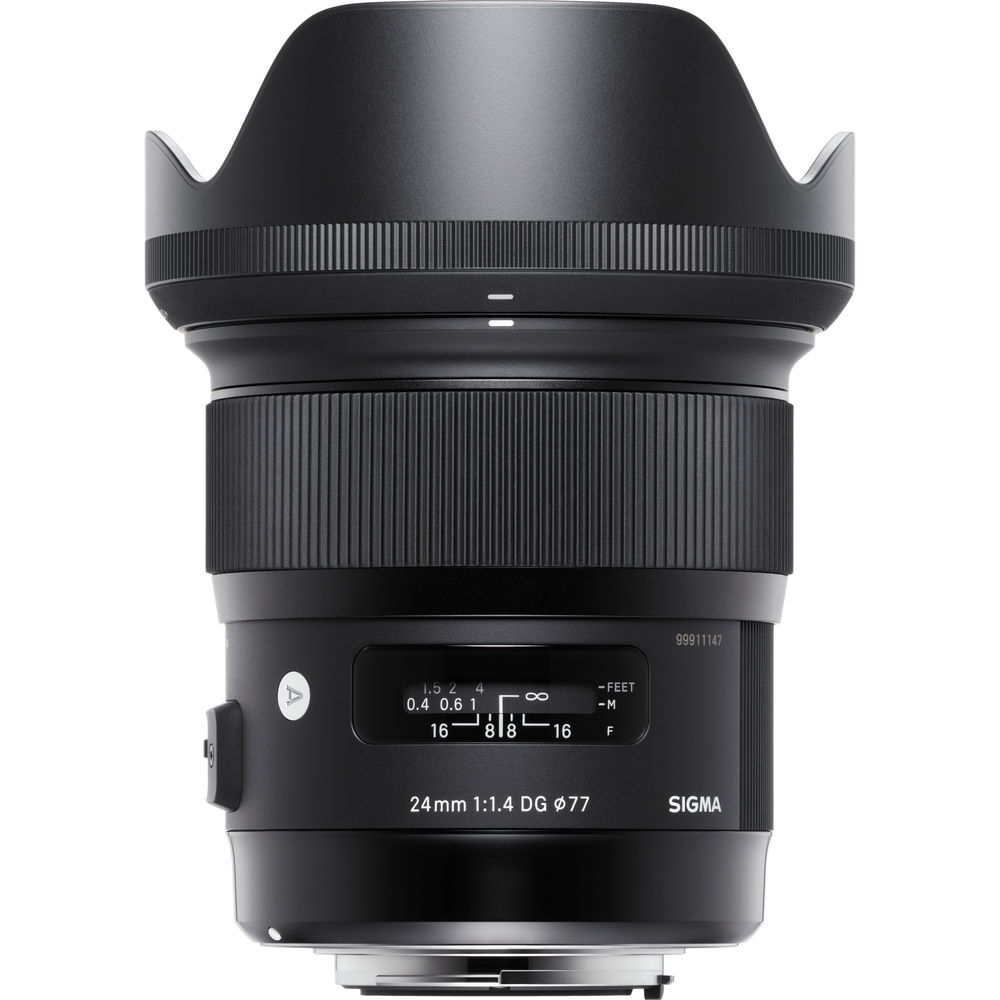 Sigma 24mm f/1.4 DG HSM Art Lens for Canon EF