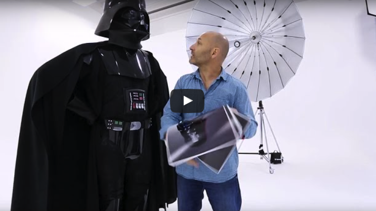 Darth Vader – Photographers Worst Client