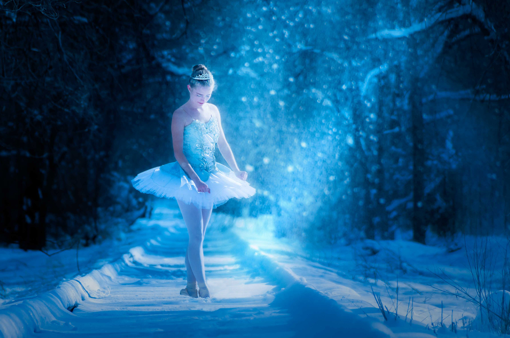 The Snow Queen Deep In The Forest