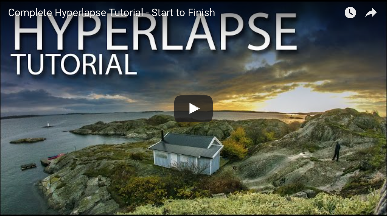 Hyperlapse Tutorial  from Start to Finish
