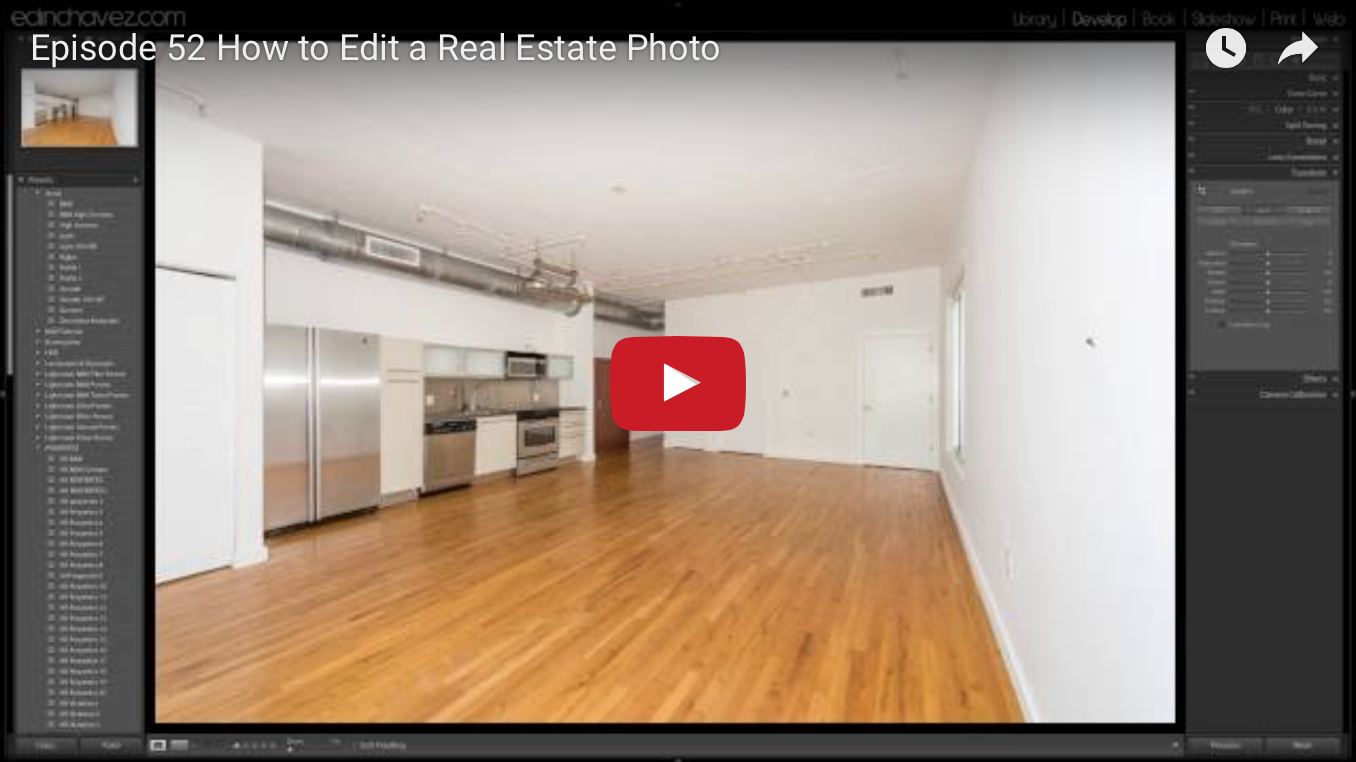 How to edit real estate photos