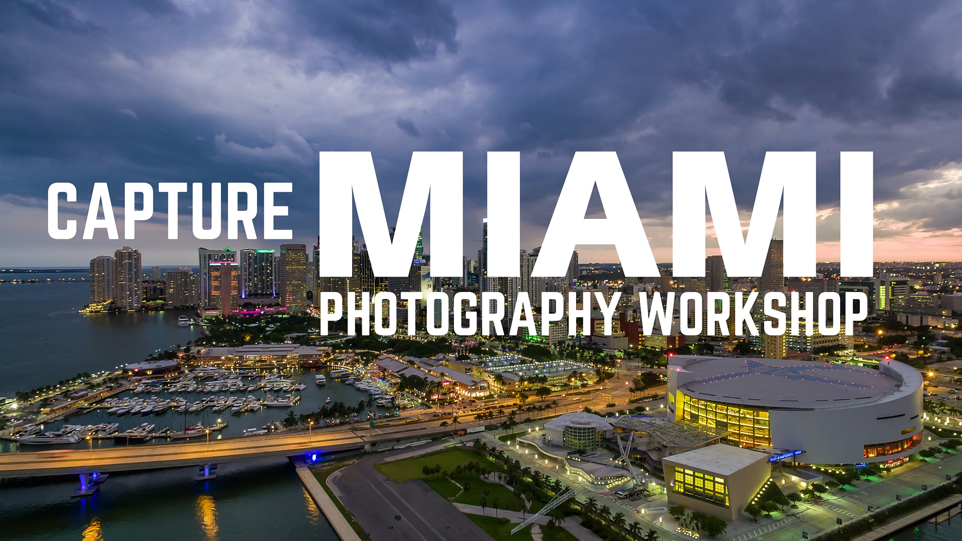 Miami Photography Workshop July 30-31