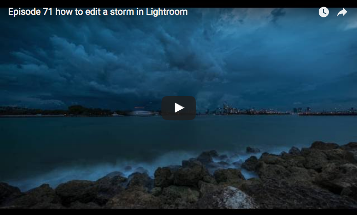 How to Edit a Storm in Lightroom