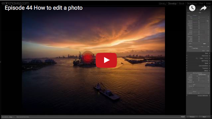 How to edit a photo shot with the DJI Phantom 3 professional