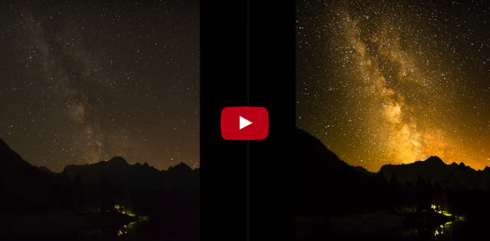 How to edit the milky way in Lightroom