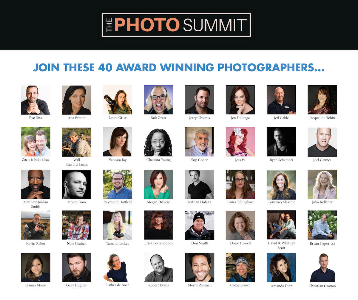 The Photo Summit Great photography talks by photography pros