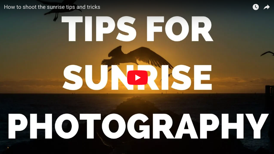 Tips and tricks for sunrise photography A guide to better photos
