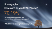 Photography quiz what kind of photographer are you