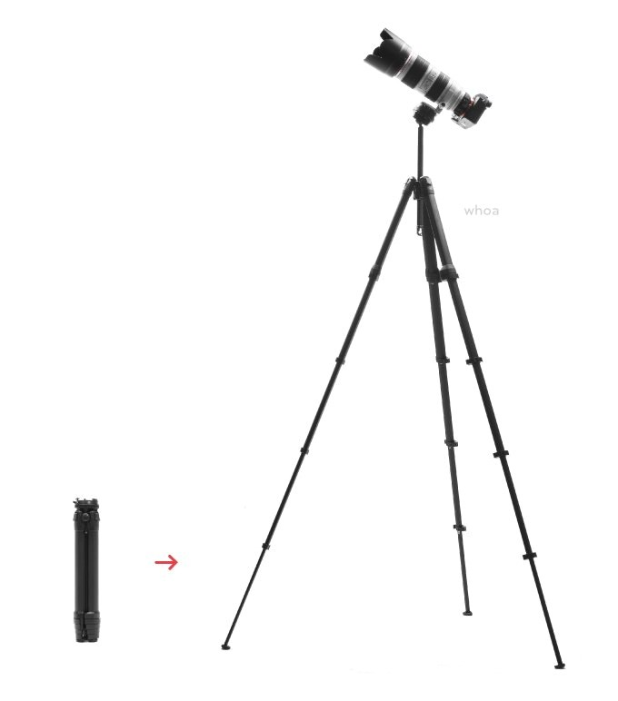 peak design travel tripod for sale